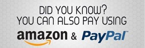 Pay with Paypal or Amazon