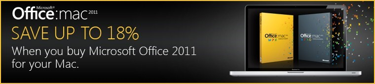 Choose your Office 2011 Suite for your Mac