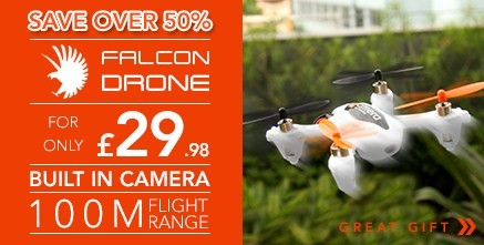 The Falcon Quadcopter Remote Contolled Drone With Camera 2.4G & 6 Axis Gyro