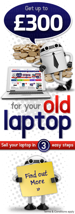 Sell us your old laptop