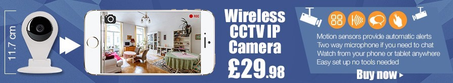 Wireless CCTV IP Cam